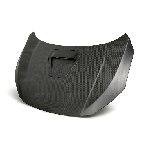 Seibon 17-18 Honda Civic Type-R OEM-Style Dry Carbon Fiber Hood