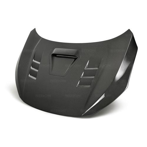 Seibon 17-18 Honda Civic Type-R TS-Style Carbon Fiber Hood