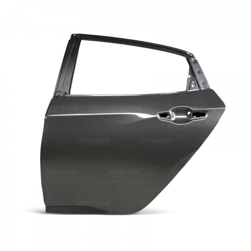 Seibon 2017 Honda Civic Type-R OE Style Gloss Carbon Fiber Rear Doors