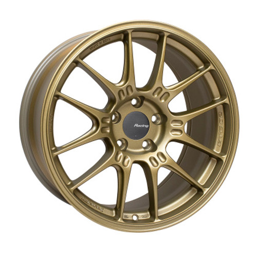Enkei GTC02 18x9.5 5x120 45mm Offset 72.5mm Bore Titanium Gold Wheel