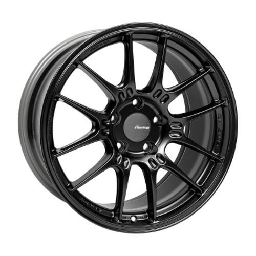 Enkei GTC02 18x9.5 5x120 45mm Offset 72.5mm Bore Matte Black Wheel