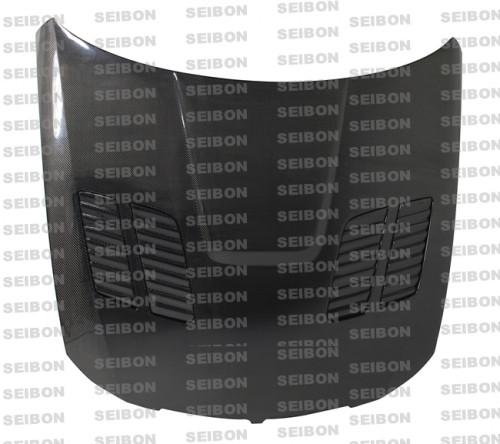 Seibon GTR-Style Carbon Fiber Hood 05-08 BMW 3 Series 4 dr E90 (Excl M3)
