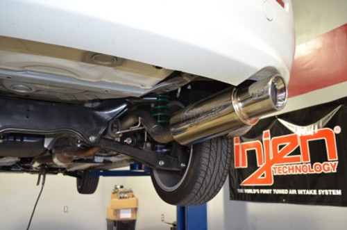 Injen 60mm Axle Back Exhaust System 2008-2015 Mitsubishi Lancer 2.4L 4 Cyl & Evo X