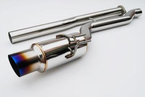 Invidia RACING Titanium Tip Cat-back Exhaust 09+ EVO 10