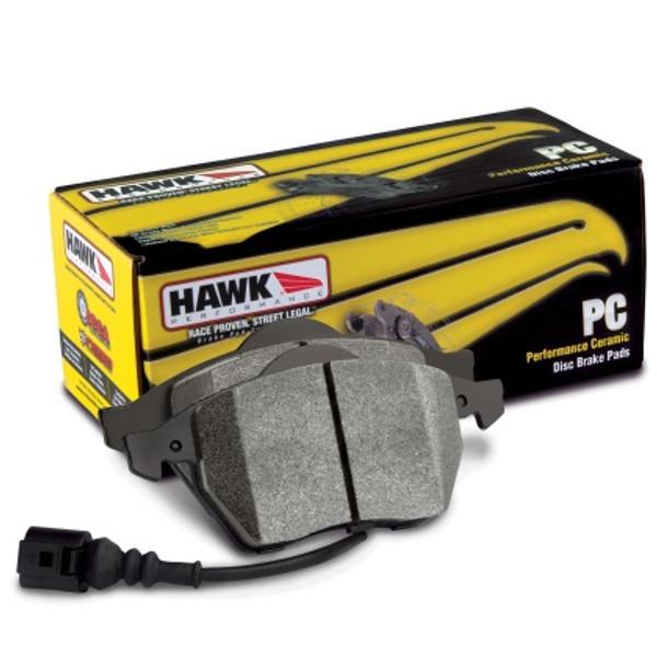 Hawk 02-13 Civic Si / Acura RSX 02-06 / S2000  / Prelude Ceramic Street Rear Brake Pads