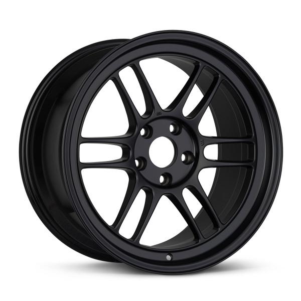Enkei RPF1 18x9 5x112 35mm Offset 66.5mm Bore Black Wheel