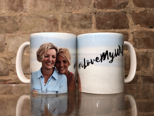I Love My Wife Podcast  Custom Mug #ILoveMyWife