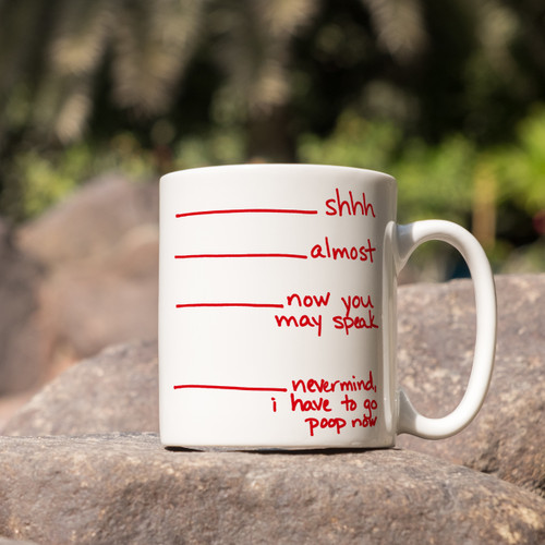 Morning Priorities Mug