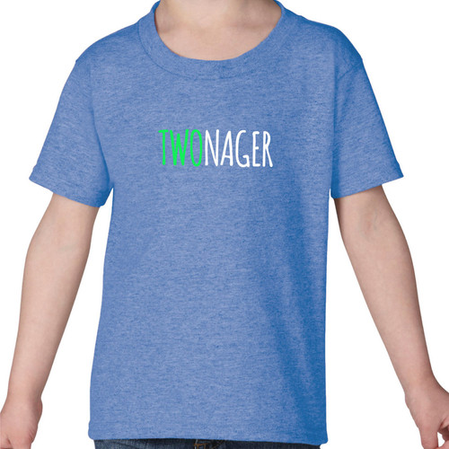 'Two'nager Toddler Graphic Tee