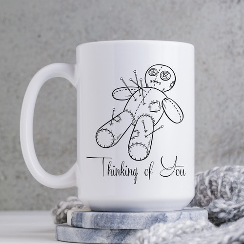 Thinking of You VooDoo Mug