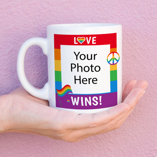 Love Wins Custom Pride Mug