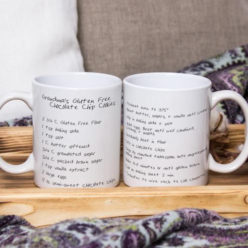 Custom Recipe Mug