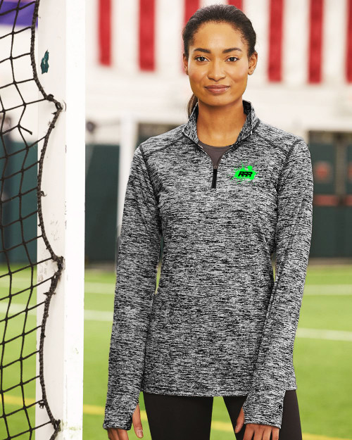Rockland Road Runners - Women's Quarter-Zip Pullover