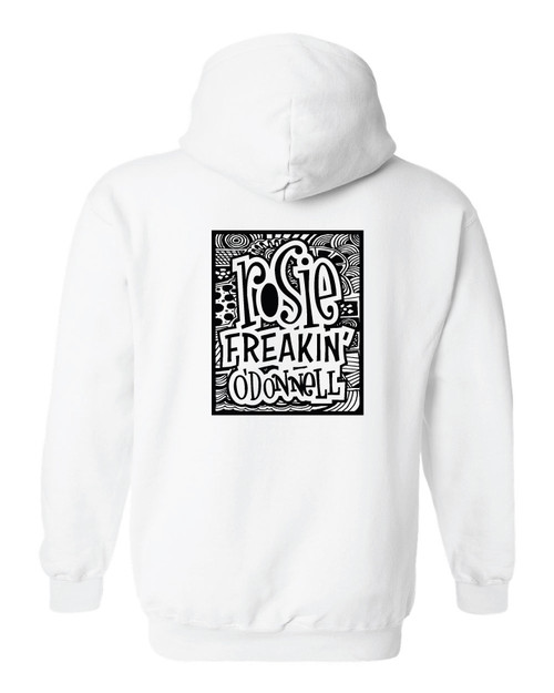 Rosie Freakin' O'Donnell Graphic Hoodie