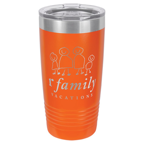 rFamily Vacations Personalized 20oz Tumbler