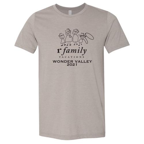 Official 2021 Wonder Valley Commemorative T-Shirt