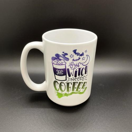 This Witch Needs Coffee Mug