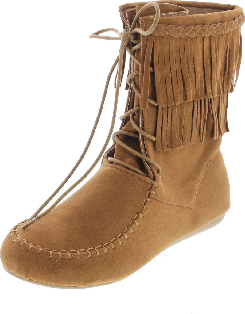 ad6bab649d34bc ... Forever Candice-22 Women s Sassy Two Layer Fringe Moccasin Ankle Booties.  http   d3d71ba2asa5oz.cloudfront.net 52000969 images 44042-