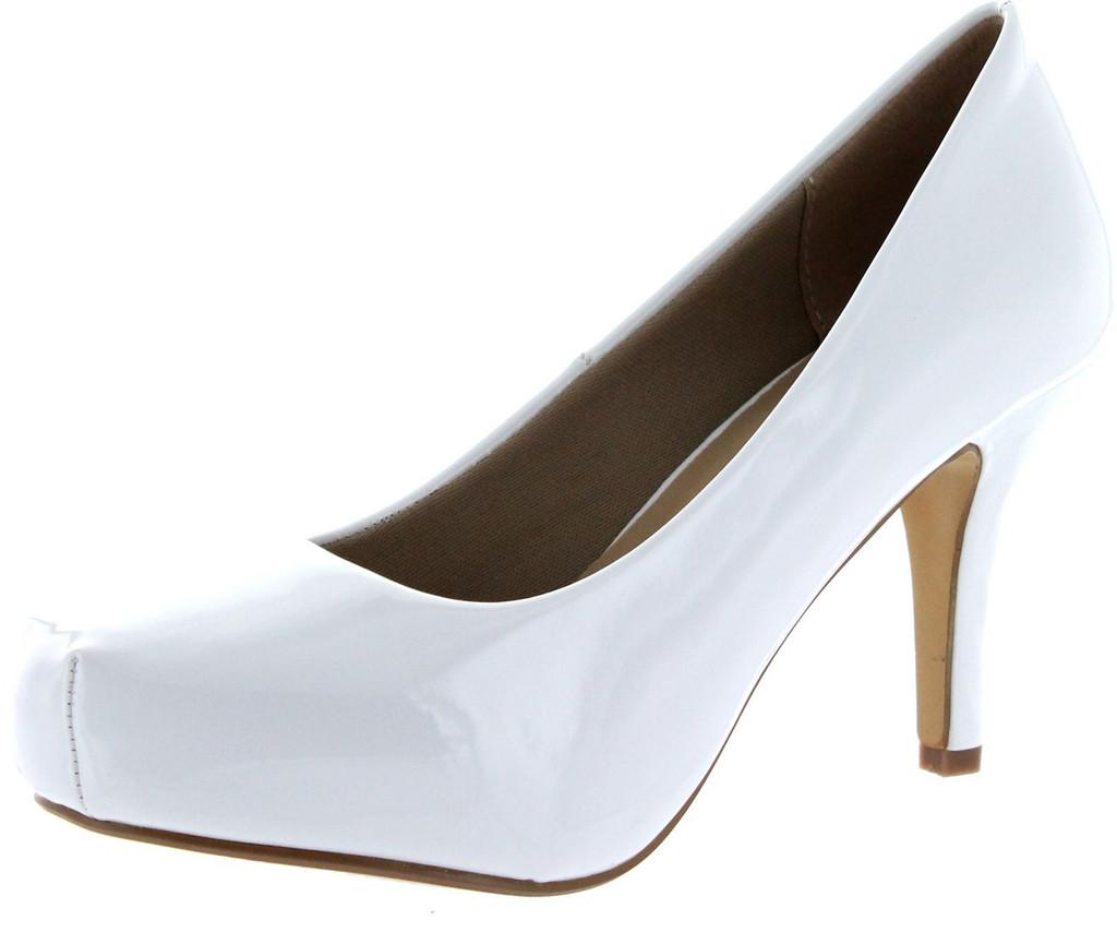 6e5a1ef1cf Delicacy Womens Cyndi-92 Heels Work Occasion Close Toe Pumps ...