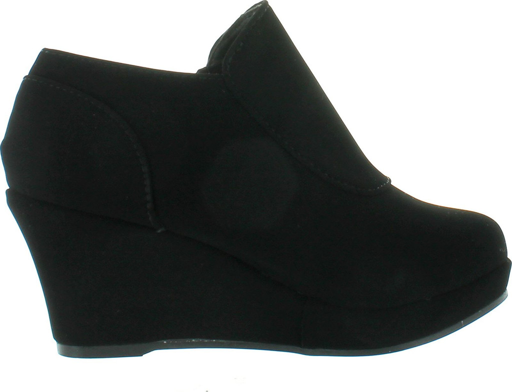 9a5a5dae630b Lucky Top Rita-2K Children Girl s Comfort Platform Wedge Heel Ankle Booties