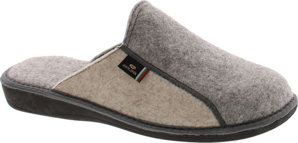 Sc Home Collection Men's 18717 Real Natural Wool Warm House Slippers Made In Europe Great Gift Item