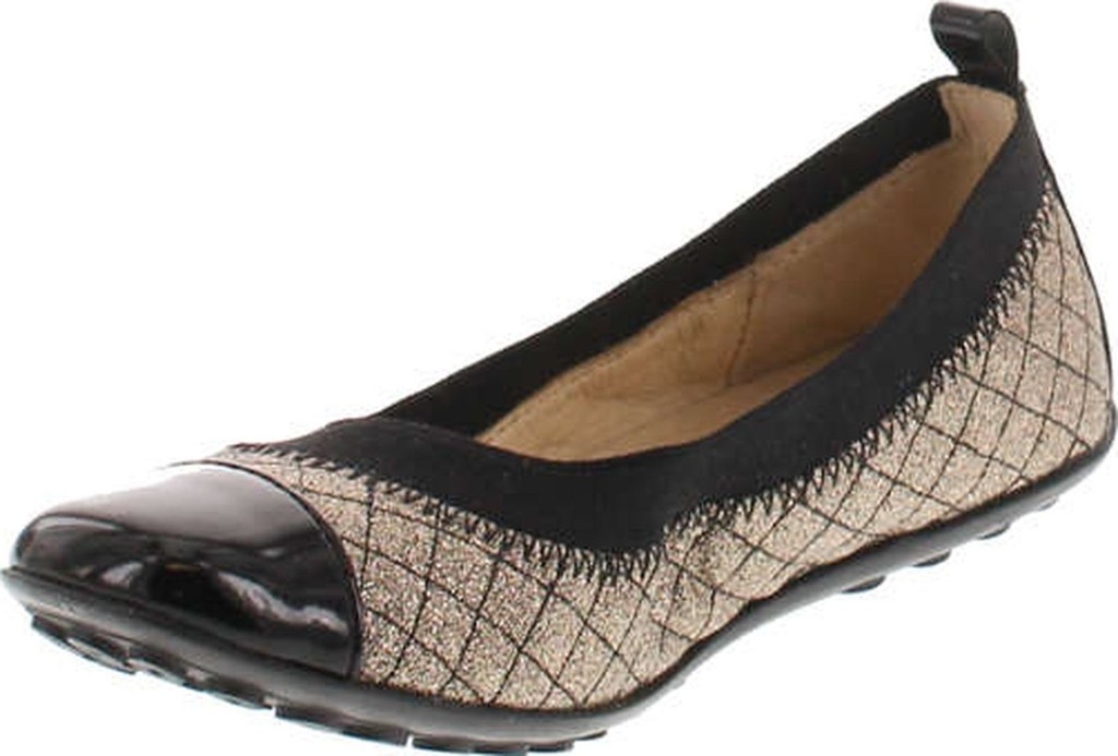 Naturino Girls 3663 Fashion Quilted Dress Flats Shoes
