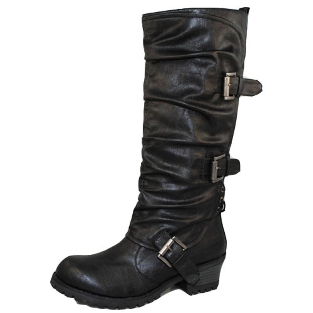Qupid Reactor-06 Round Toe Knee High Boot