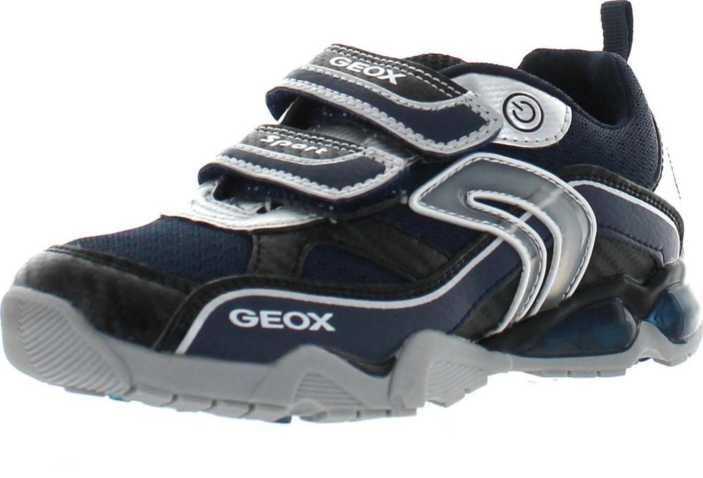 4f7a542531 Geox Boys Jr Light Eclipse Fashion Light Up Sneakers - ShoeCenter.com