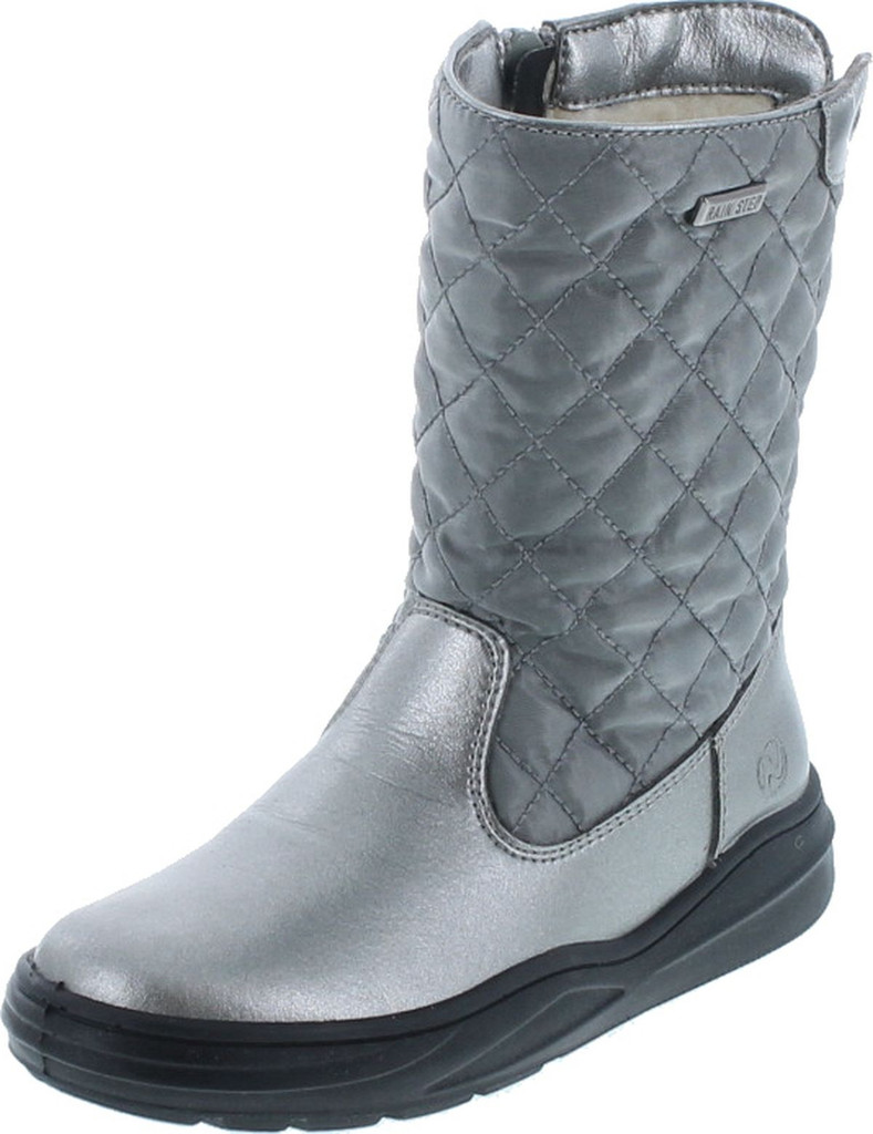 Naturino Girls Quilt Rain Step Waterproof Winter Fashion Boots