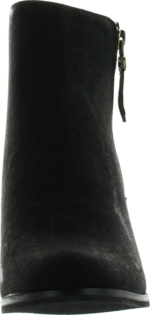 Reneeze Baba-02 Women Fashion Comfy Stacked Chunky Heel Side Zipper Ankle Bootie