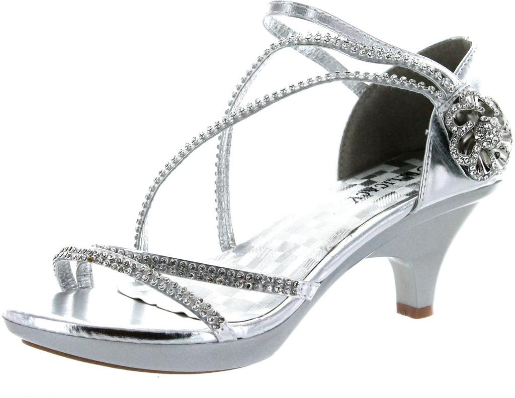 f7beba1bcbf Delicacy Womens Angel-48 Dress Pumps Sandals - ShoeCenter.com