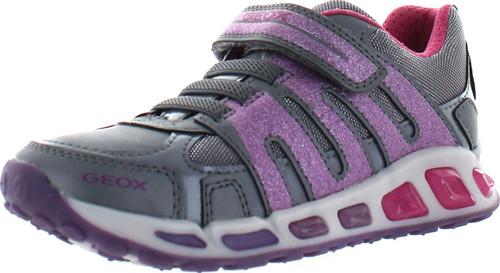 Geox Girls Jr Shuttle Fashion Sneakers