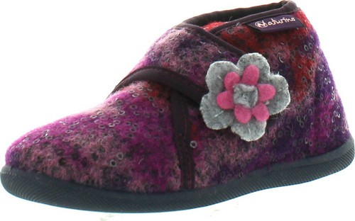 Naturino Kids 7456 Natural Wool Home Slippers
