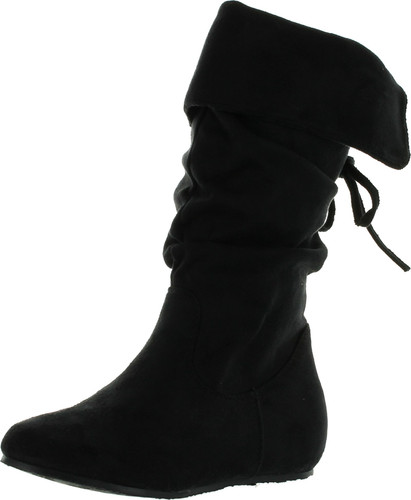 Diva Lounge Girls Candy 17 Slouchy Flat Boots