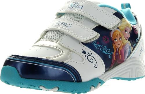 Disney Girls Frozen Princess Elsa And Anna Fashion Sneakers