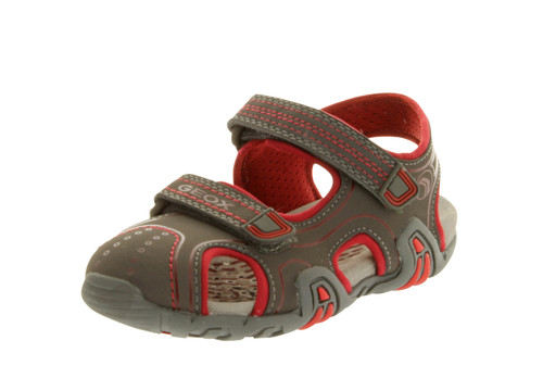 Geox Boys' Kraze C Closed Toe Sandal