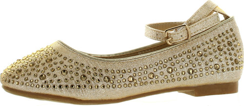 Adorababy Girls Ba0032 Fashion Dressy Flats Shoes