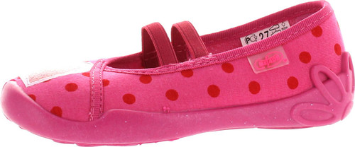 Befado Girls Ballet Flat Slippers Shoes - Made In Europe