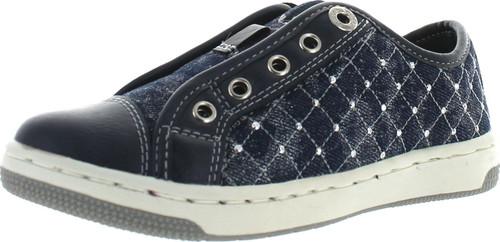 Geox Girls Jr Creamy D Slip On Fashion Sneakers