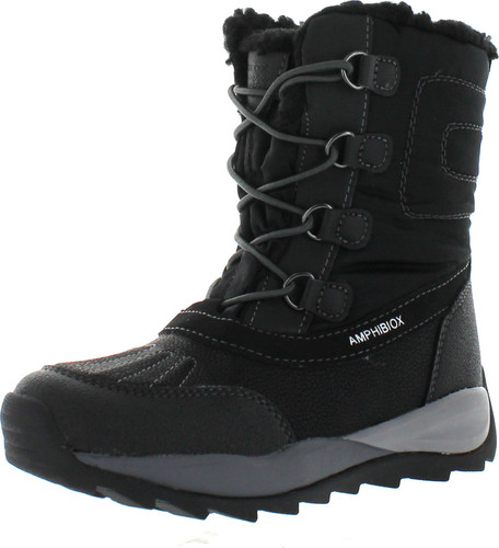 Geox Boys Orizont Bunjee Duck Waterproof Fashion Boots
