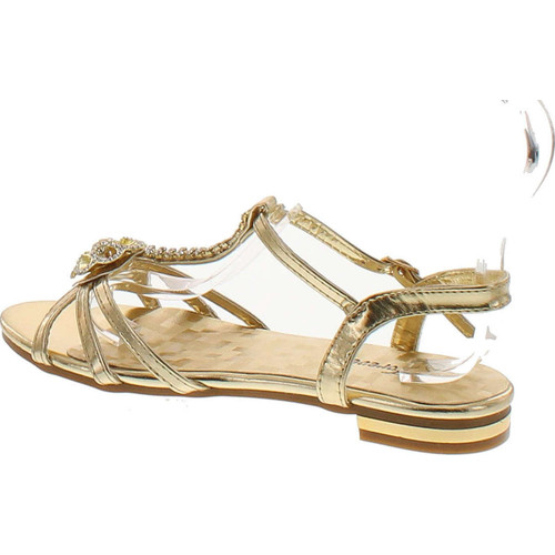 Forever Nora-69 Womens Open Toe Flat Wedding Party Dress Sandal Shoes