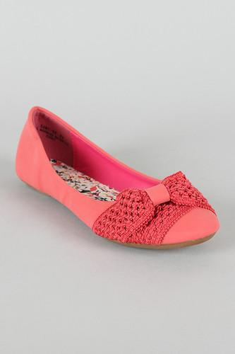 Bamboo Women Sami-56 Flats-Shoes