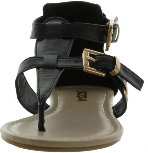 Soda Women Carpen Closed Back Thong Sandals