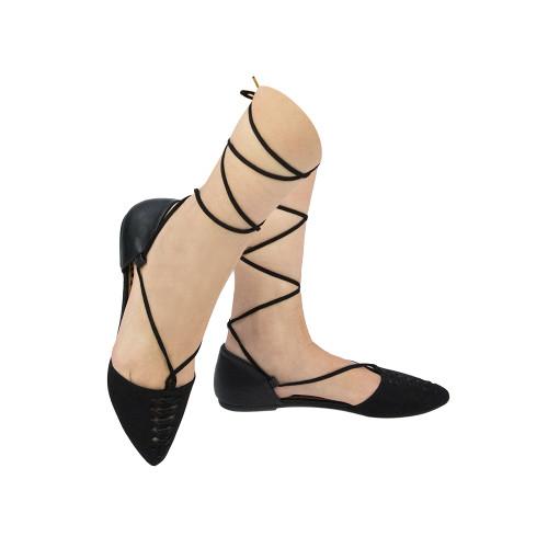 Qupid Womens Pika-21 Fashion Lace Up Gladiator Sandals