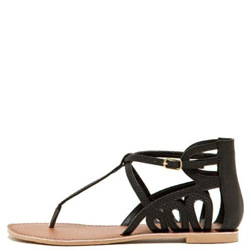 Qupid Women's Athena-665 Sandals