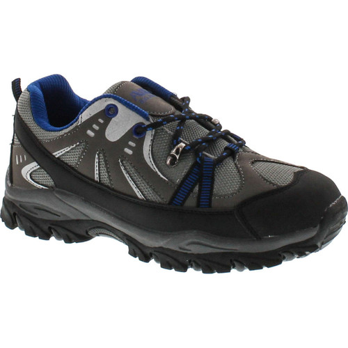 Air Balance Boys Black Grey Royal Hiking Shoes