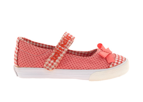 Lelli Kelly Lk9316 Girl's Canvas Upper Polka Dot Mary Janes