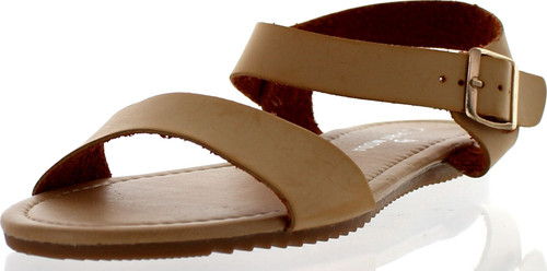 Spirit Moda Womens Juay-1 Strappy Fashion Sandals