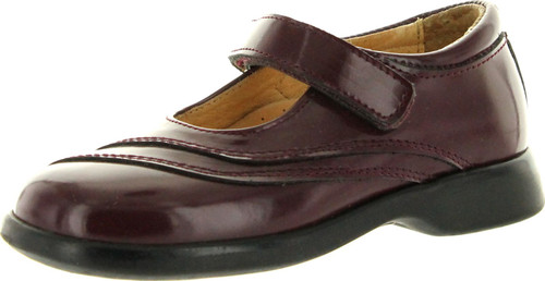 A&S Girls 6148 European Made Dress Casual Mary Jane Flats