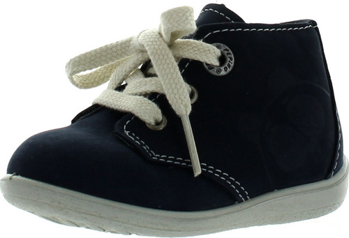Ricosta Boys Wide First Walker Baby Lace Up Shoes